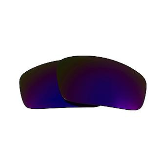 Polarized Replacement Lenses for Oakley Monster Pup Sunglass Anti-Scratch Purple