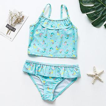 Meninas swimwear criança biquíni definir biquíni biquini infantil