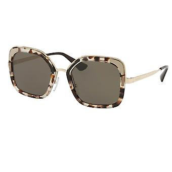 Prada 0pr57us Uao5s2 54 Catwalk Spotted Opal Brown Ladies Sunglasses