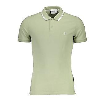 كالفن كلاين بولو قميص قصير الأكمام الرجال J30J314565