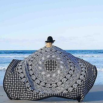 Beach Mandala Blanket