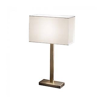 Tischleuchte In Bronze 1 Glühbirne Höhe 63 cm