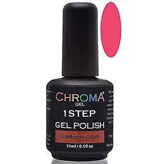 Chroma Gel One Step Gel Polish - Cranberry Crush