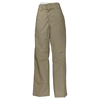 Dickies Men's Pantalones de ajuste regular de cintura activa trabajo desierto arena beige