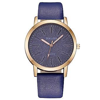 Luxus-Marke, Leder Quarz, Frauen's Mode Armbanduhr Uhr