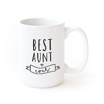 Beste tante noensinne-kaffe krus