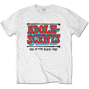 White The Adolescents Kids Of The Black Hole Official T-Shirt Unisex