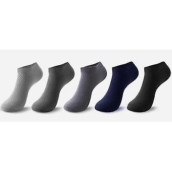 Men Bamboo Fiber Short Ankle Socks