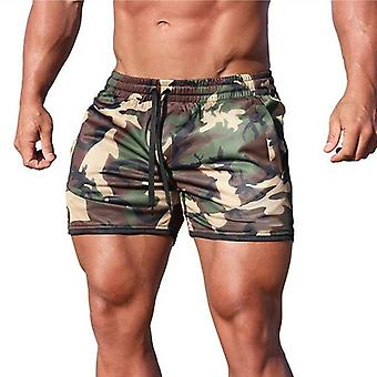 Summer Fitness Breathable Quick-drying Gyms Bodybuilding Joggers Shorts