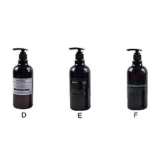 Soap Dispense  Brown Bathroom Shower Gel