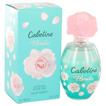 Cabotine Floralie Eau De Toilette Spray por Parfums Gres 3.4 oz Eau De Toilette vaporizador