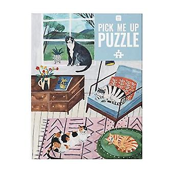 Cat Puzzle - Animal Lovers Gift - 500 piece - Game Christmas Gift
