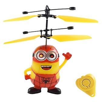 Mini Drone Rc Helicopter Aircraft Mini Drone Fly Flashing Helicopter Hand