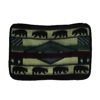Yuma bära Wildlife plysch Fleece Standard kudde Sham