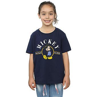 صحيح البنات ديزني ميكي ماوس القميص الأصلي