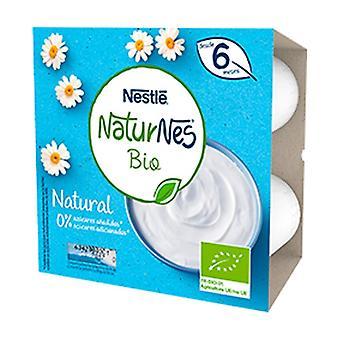 天然乳製品デザートポット 4ユニット