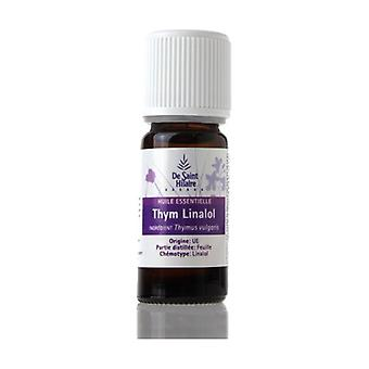 Thyme Linalol Organic essential oil 5 ml