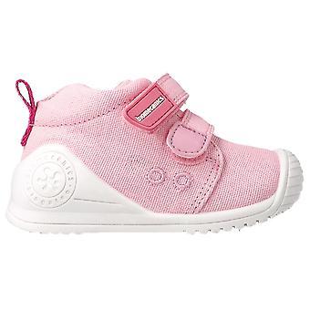 Biomecanics Girls 202201-C Canvas Shoes Pink