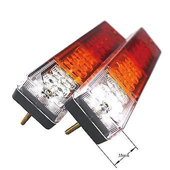 2X 12v 20 led stop takavalo merkkivalo lamppu ute kuorma-auton perävaunu asuntovaunu