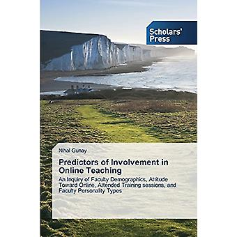 Predictors of Involvement in Online Teaching by Gunay Nihal - 9783639