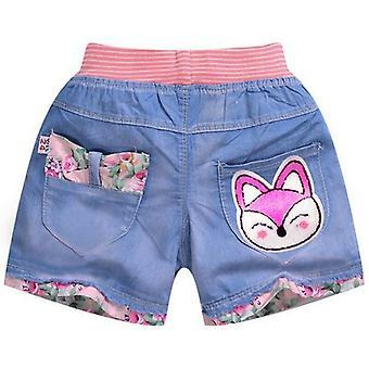 Copii de vară scurt, Princess Jeans Pantaloni