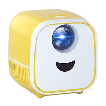 Thundeal PK YG300 Mini LED-projektori - Beamer Home Media Player Theater Cinema Valkoinen