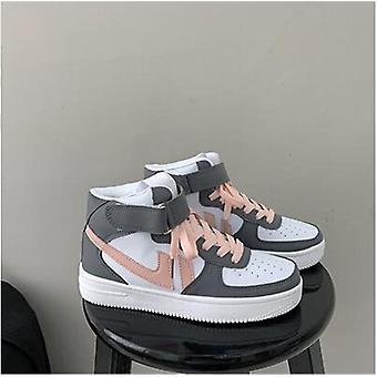 Autumn Winter New Women's High-top Sneakers