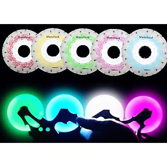 Led And Spark Flint Fire Stones Roller Skates Wheel