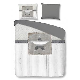 bed cover Riv 135 x 200 cm grey