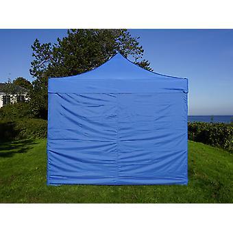 Pop up gazebo FleXtents PRO Steel 3x3 m Blue, incl. 4 sidewalls