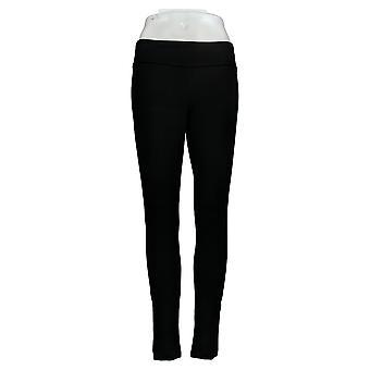 Susan Graver Leggings Regular Weekend Premium Stretch Black A369613