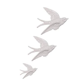 Sass & Belle Flying Swallows Wall Decorations