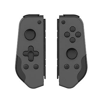 Game Playing Controller with Turbo Dual Vibration Replacement for Nintendo Switch Joycon(dark gray)