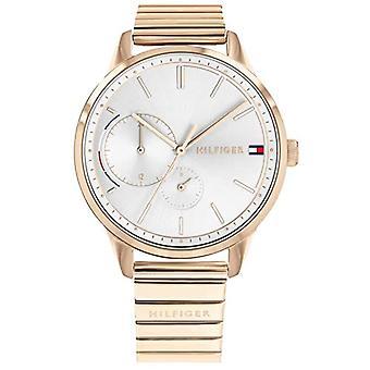 Reloj multi-cuadrante tommy hilfiger de cuarzo femenino con correa de acero inoxidable 1782021