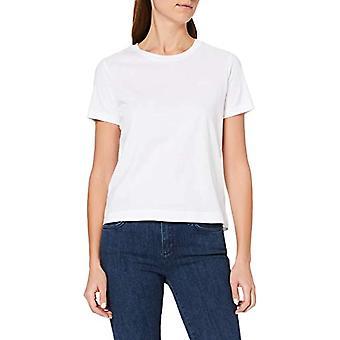 GANT D1. The Original SS T-Shirt, White (White 110), Large Woman