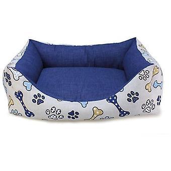 アーキベット ベッド スクエア ドッグ ボーンズ (犬 、寝具、ベッド)