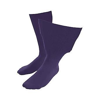 Unisex extra brede zachte katoenen oedeem sokken