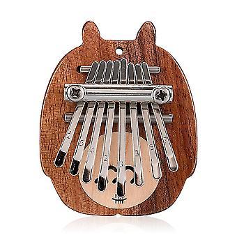 חמוד Totoro 8 מקשים קלימבה אגודל פסנתר כלי נגינה למתחילים