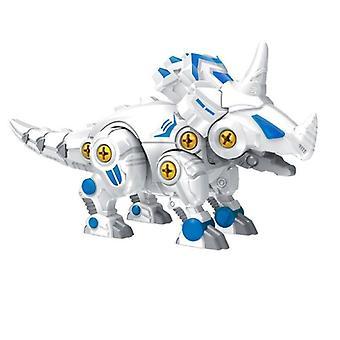 Diy Nut Assembly Tyrannosaurus Triceratops Model Screw Nut Combination Toy