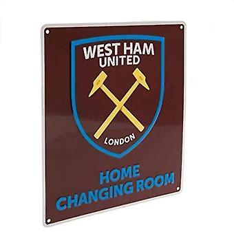 West Ham United FC Home Kleedkamer Teken