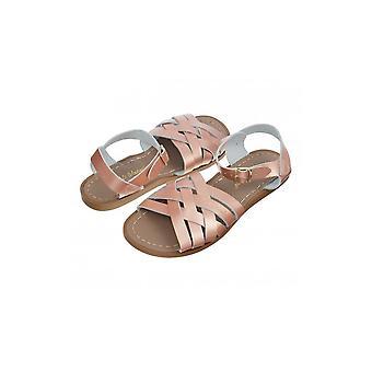SUN-SAN / SALT-WATER Retro Rose Gold Sandal