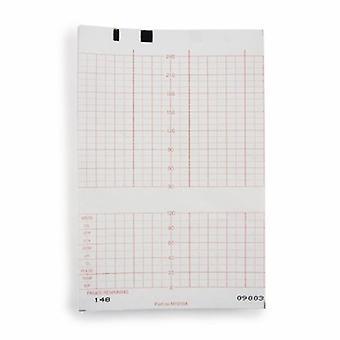 McKesson Fetal Monitoring Paper McKesson 5.9 Inch X 49 Foot Z-Fold, 150 Count