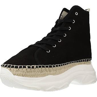 Yellow Sport / Street Boot Party Color Black Shoes
