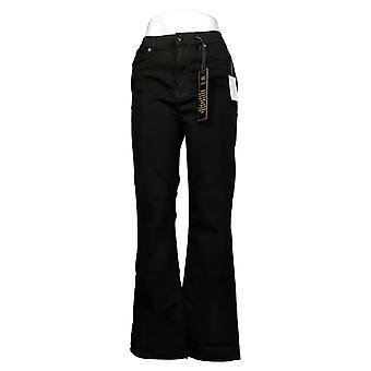 DG2 by Diane Gilman Women's Pants Virtual Stretch Boot-Cut Black 567176