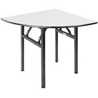 مأدبة مستديرة قابلة للطي، خشب الرقائقي مع طاولة Pvc Top Steel