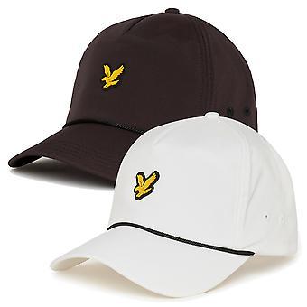 Lyle &Scott Mens 2021 Golf Branded Adjustable Strap Vented Baseball Cap