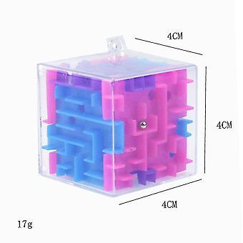 3d Cube Puzzle Maze Kids Educational Decompression Capsule