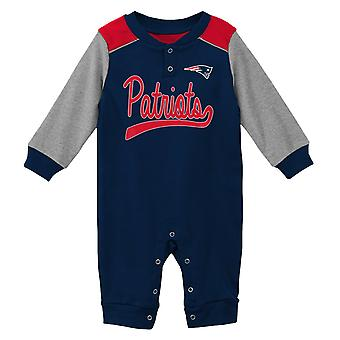 NFL Baby Romper - SCRIMMAGE New England Patriots