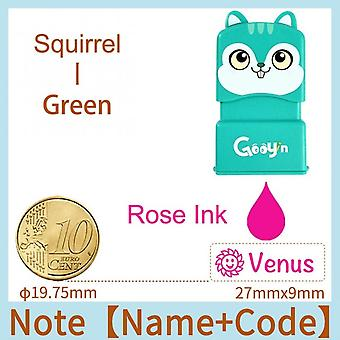 Custom-made Stamp Baby Boys Girls Diy Toys For Children Customized Sticker Name Seal Student Clothes Chapter No Fade Security 01