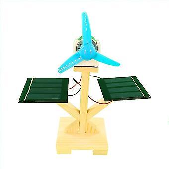 מודל מאוורר שמש ערכות חומרים - ניסוי מדעי כונן היברידי